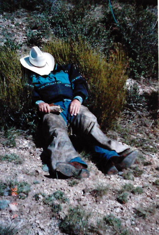 rancher sleeping